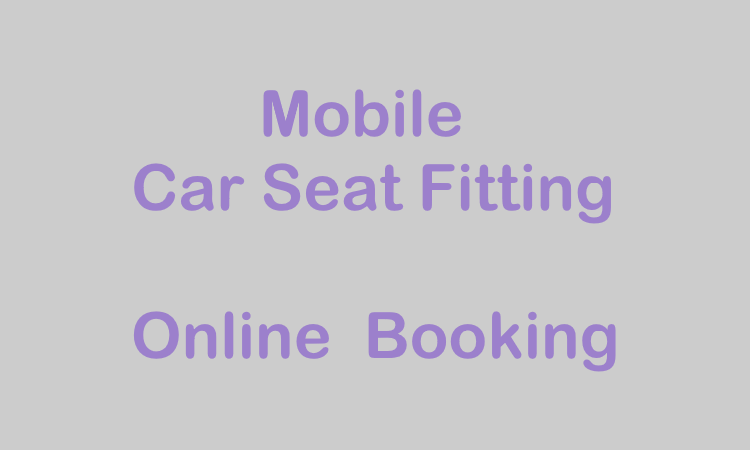 Mobile Baby Restraint Fitting Booking